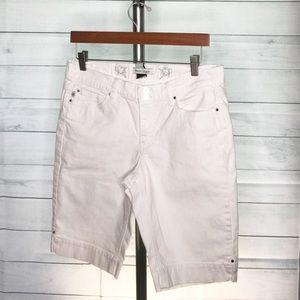 Black House White Jean Market Bermuda Shorts Sz 8